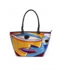 ARTE A SPASSO Bag with eco-leather details FANTASY