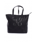 LIU JO Bag in eco-leather BLACK Art. A65022E0160