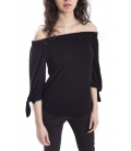DENNY ROSE Blusa / Top con scollo NERO 63DR16027