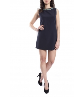 DENNY ROSE Short dress BLUE Art. 63DR11023