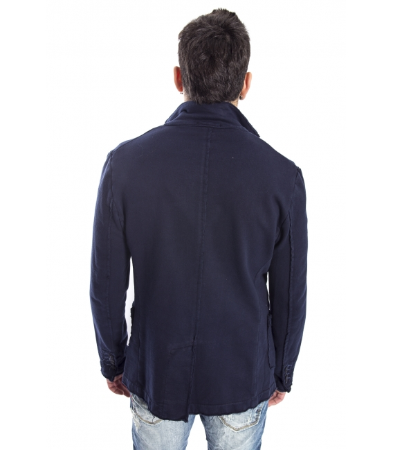 GIANNI LUPO Jacket / Blazer with buttons BLUE Art. 1407-1