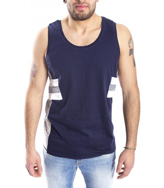 ANTONY MORATO T-shirt with print BLU MARINE MMKS00773
