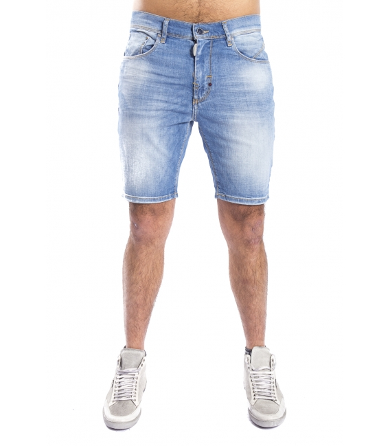 ANTONY MORATO Bermuda Short Jason skinny DENIM LIGHT MMDS00023