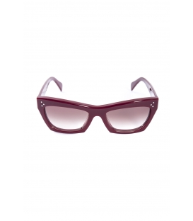 CELINE Sun glasses woman BORDEAUX Art. CL41802