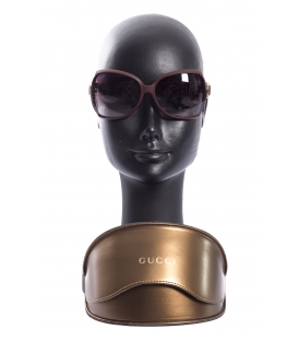 GUCCI Sun glasses woman BORDEAUX Art. GG3512/S