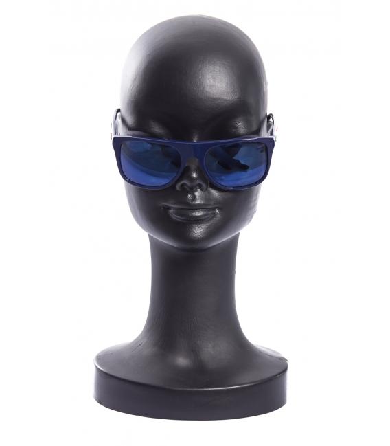 EMPORIO ARMANI Sun glasses unisex BLUE Art. EA7 ITALIA TEAM