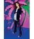 DENNY ROSE Long jacket BLACK Art. 63DR13003