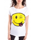 DENNY ROSE T-shirt con stampa WHITE Art. 63DR16010