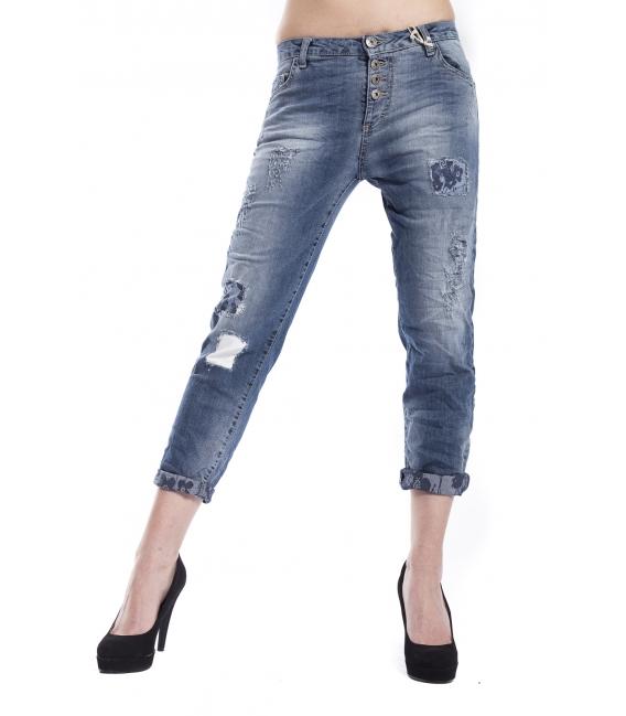MARYLEY Jeans boyfriend baggy DENIM Art. B545/G56