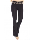 DENNY ROSE Pantaloni / leggings BLACK 63DR22017