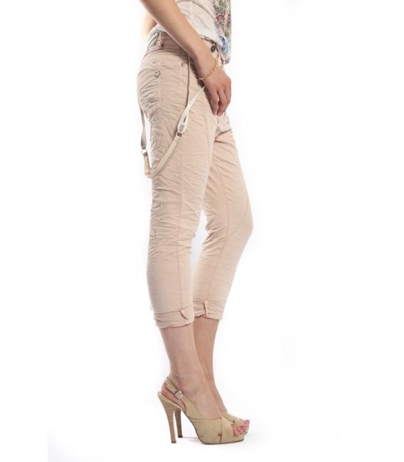 PLEASE jeans boyfriend baggy with braces 5 BUTTONS CIPRIA OLD+3D P75FCV94U NEW