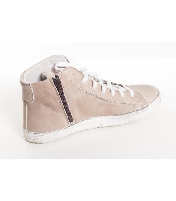 OVYE sneakers in pelle con stella BEIGE