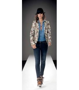 Denny Rose giacca in fantasia art 6890 inverno 2013