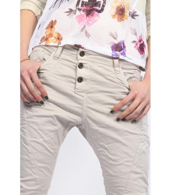 PLEASE jeans boyfriend baggy 3 buttons SASSO P78ACV9DQ NEW