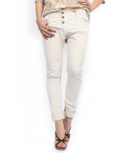PLEASE jeans boyfriend baggy 3 buttons GREY P78ACV9DQ NEW