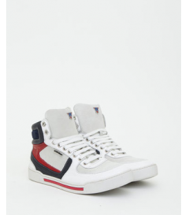 ANTONY MORATO sneakers high-top leather 3 colors WHITE MMFW00207 NEW