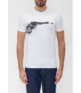 ANTONY MORATO T-shirt in jersey with print WHITE MMKS00290 NEW