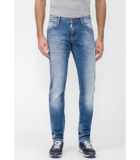 ANTONY MORATO Jeans skinny fredo BLUE DENIM MMDT00061 NEW