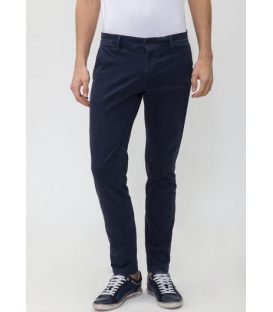 ANTONY MORATO Trousers Chino super slim in cotton BLUE MMTR00074 NEW