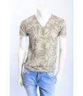 ANTONY MORATO T-shirt in cotone con bottoni SAFARI MMKS00353 NEW