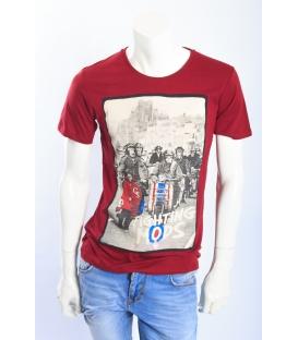 ALCOTT T-shirt con stampa davanti ROSSO art. TS6792