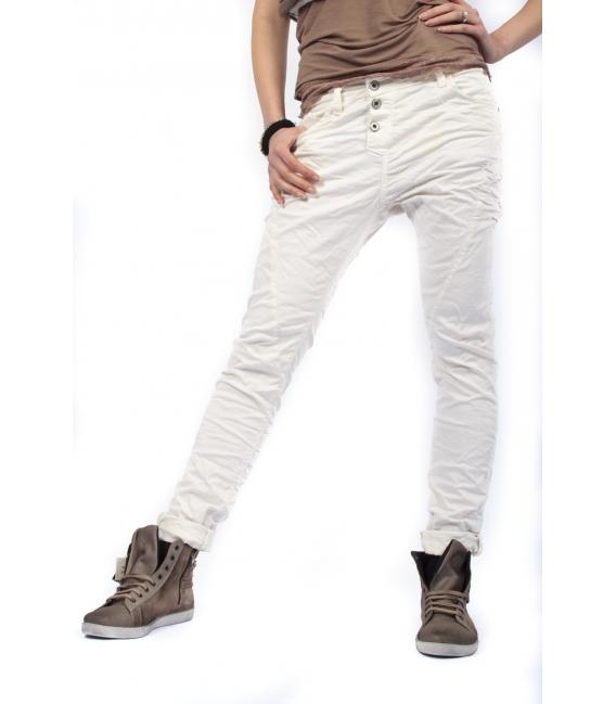 PLEASE jeans boyfriend baggy 3 buttons GESSO P78ACZ94U NEW