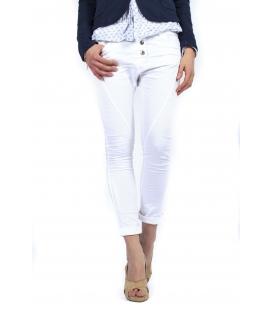 SUSY MIX jeans boyfriend baggy hose art P78 4002 BIANCO new