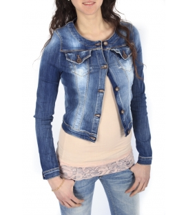 Miss Miss by Valentina Giacca corta in DENIM LU105 new