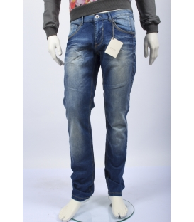 DIKTAT jeans chiusura con zip DENIM D47501 NEW