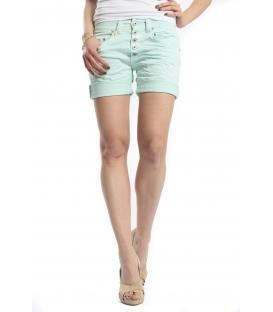 PLEASE shorts boyfriend baggy 5 buttons ACQUA P88ACQ94U NEW