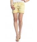 PLEASE shorts boyfriend baggy 5 buttons YELLOW OLD P88ACQ94U NEW
