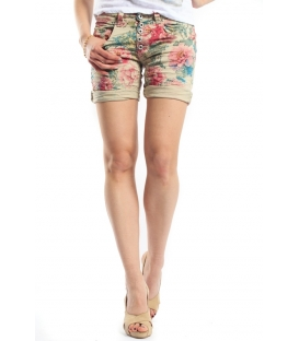 PLEASE shorts boyfriend baggy 5 buttons SASSO OLD+3D P88ADC7NV NEW NEW