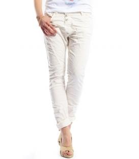 PLEASE jeans boyfriend baggy 3 buttons GESSO P78ACV9DQ NEW