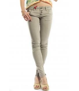 525 jeans slim fit 4 buttons TORTORA P454522 NEW