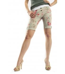 SUSY MIX shorts boyfriend baggy GREEN 4152 NEW