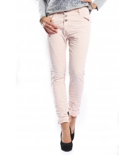 PLEASE jeans boyfriend baggy 3 buttons SHELL + 3D P78ACU94U NEW