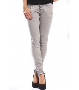 PLEASE jeans slim fit 3 buttons color SLATE GRAY +3D P83ACV94U NEW