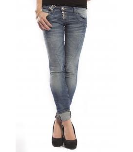 PLEASE jeans slim fit 4 buttons DENIM P68CBQ2RW NEW