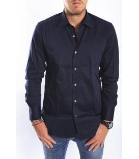 ANTONY MORATO Shirt slim BLU MMSL00114 NEW