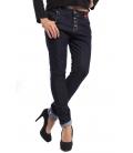 MISS MISS Jeans boyfriend 4 buttons 9855 DARK DENIM new