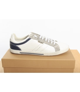 ANTONY MORATO sneakers basse in pelle BIANCO MMFW00251 NEW