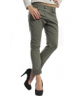 PLEASE jeans boyfriend baggy 3 buttons COLOR P78 NEW GREEN new fabric winter 14