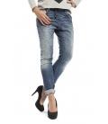 Dettagli su PLEASE jeans boyfriend baggy 3 buttons DENIM + 3d P78ABQ2RW beautiful NEW
