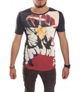 ANTONY MORATO T-shirt con stampa ANTRACITE MMKS00494 NEW