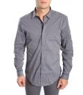ANTONY MORATO Shirt slim GRIGIO NUVOLA MMSL000201 NEW