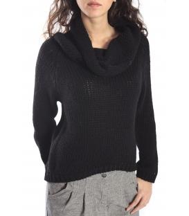 PLEASE sweater in wool BLACK M45940050 NEW