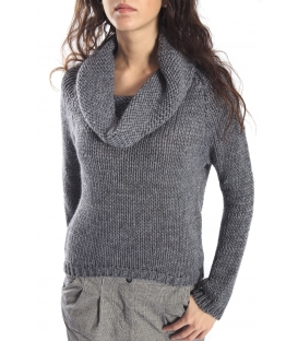PLEASE sweater in wool ANTRACITE M45940050 NEW