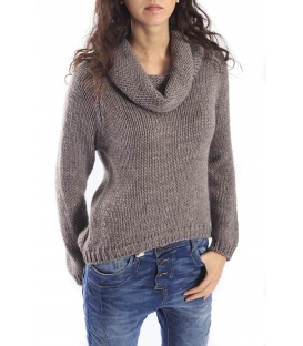 PLEASE Maglia sweater in wool with neck FANGO M45940050 NEW