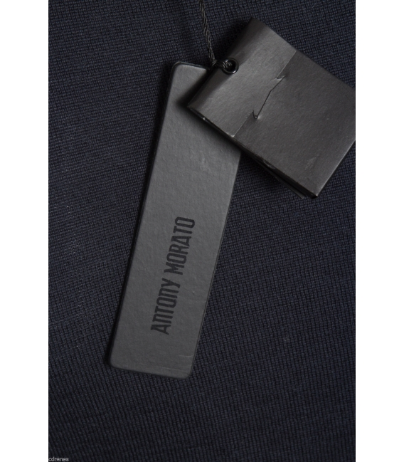 ANTONY MORATO Maglia con doppio collo art MMSW00172 BLU NOTTE