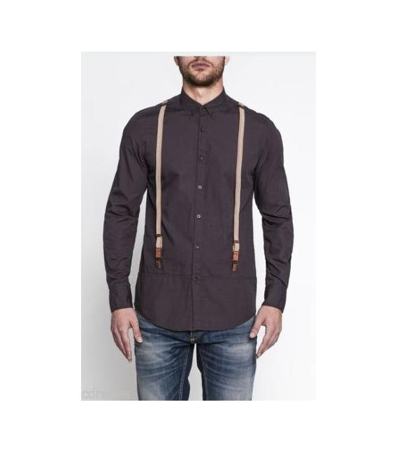 ANTONY MORATO camicia con bretelle art MMSL00092 CAFFE'